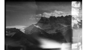 THE ALPS / DOUBLE EXPOSURE